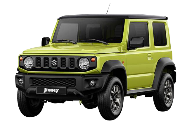Rent a Suzuki Jimny  4x4  2019 car in Crete
