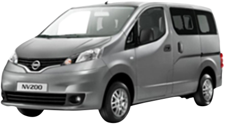 Rent a Nissan NV200 7 seater Diesel or similar car in Crete